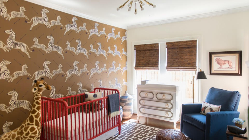 Awesome Wallpaper Designs for a Sophisticated Nursery