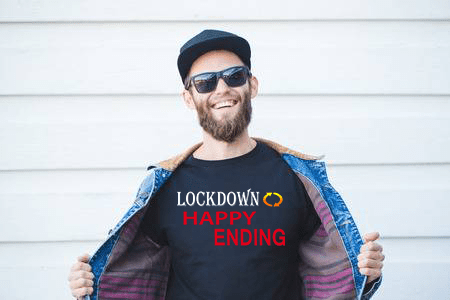Men Quarantine T shirt