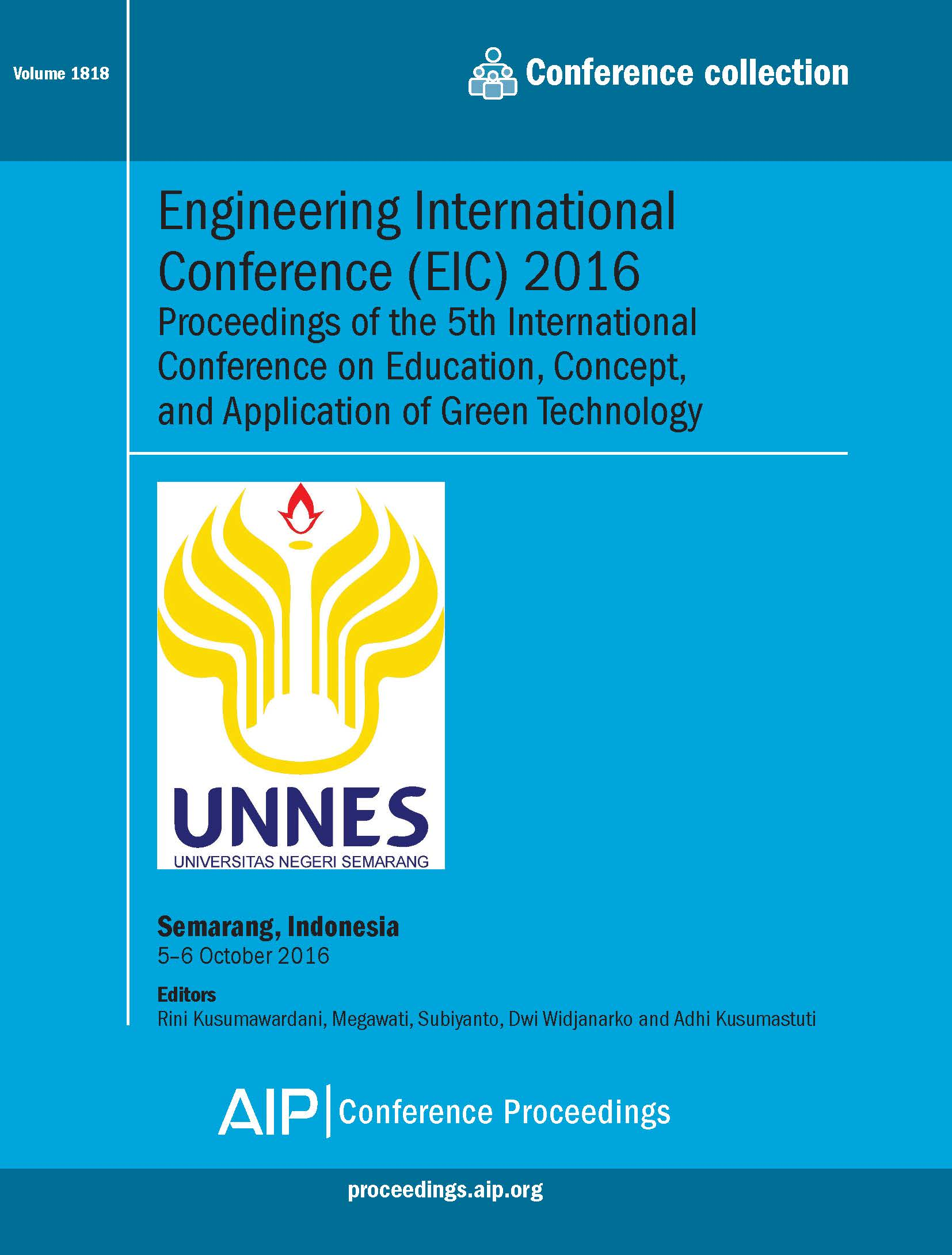 Volume Engineering International Conference Eic