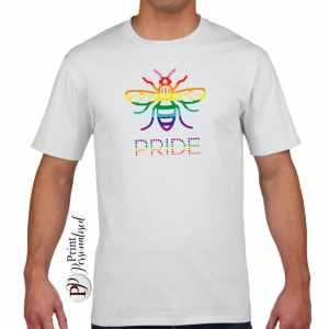 manchester-pride-bee-mens-tshirt