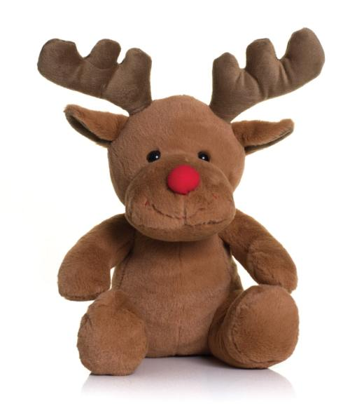 personalised reindeer cuddly toy