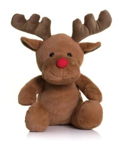 personalised reindeer cuddly toy