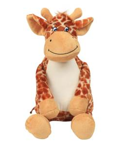 personalised giraffe cuddly toy