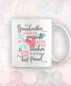 personalised mothers day gift mug for grandma