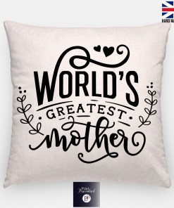 worlds greatest mother cushion