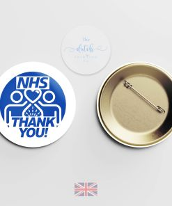 Thank You NHS Badge (National Health Service Badge)