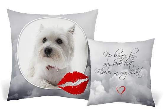photo cushion a great memorial gift for
