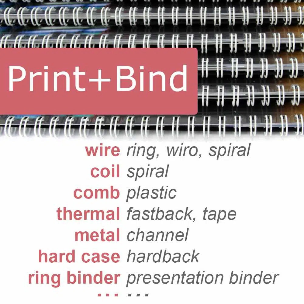 Document Printing And Binding