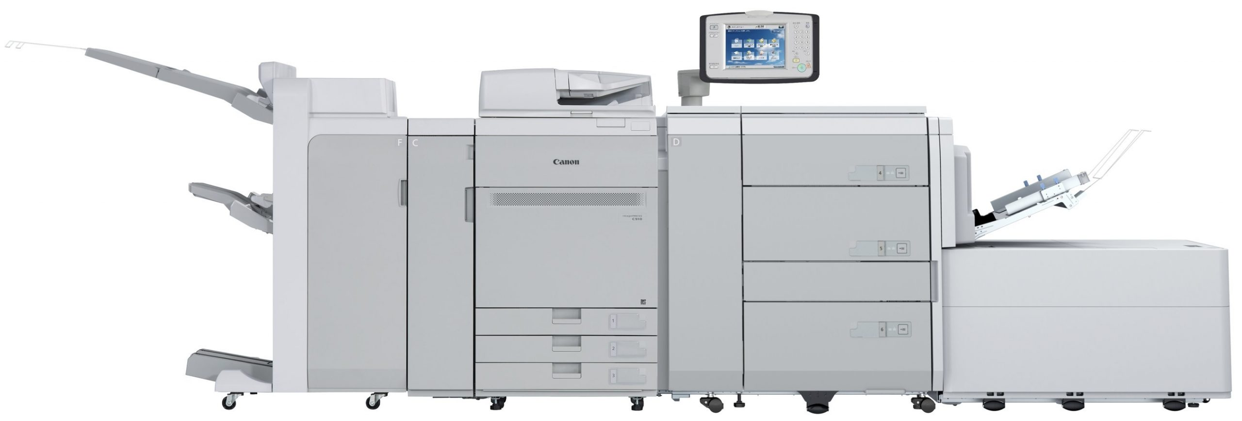 Canon U.S.A., Inc., Announces New Feeding Accessory and Fiery-powered Controllers for the imagePRESS C910 Series