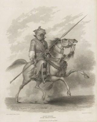 Chad: Body Guard of the Sheikh of Bornou.