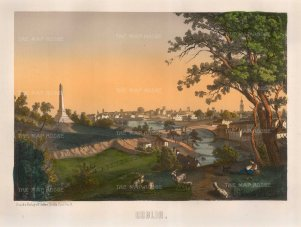 "Silber: Dublin. 1850. An original colour antique lithograph. 15"" x 12"". [IREp464]"