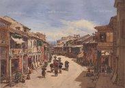 "Hildebrandt: Hong Kong. 1874. An original antique chromolithograph. 15"" X 11"". [SEASp1144]"