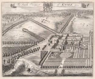Knole House, Kent: South Prospect.