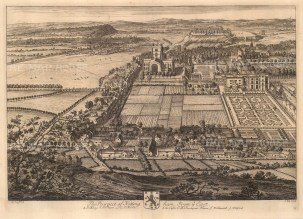 From the East. Aerial View.