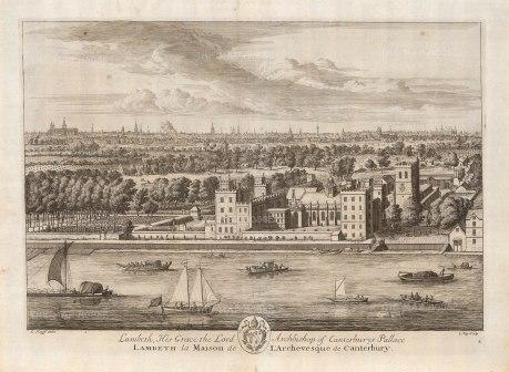Lambeth Palace. Palace of the Archbishop of Canterbury.