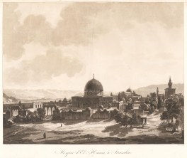 RARE: Mosque of El-Haram. In 1817 de Forbin, curator of the Louvre, arrived in the Levant with an expedition of artists to purchase antiquities.