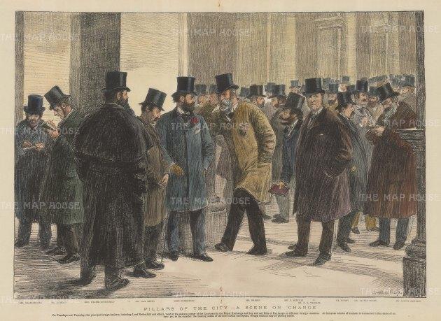 London Stock Exchange: Pillars of the City.