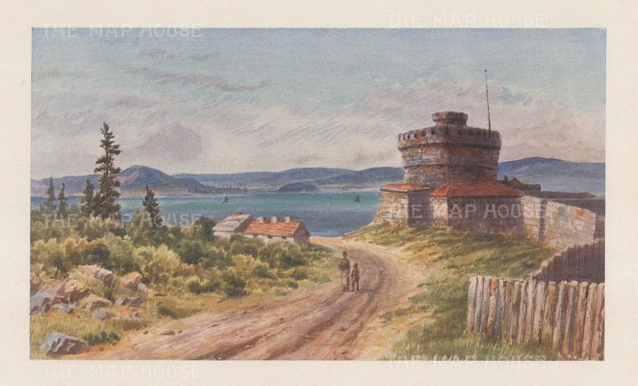 """Mower Martin: Halifax, Nova Scotia. 1907. An original chromolithograph. 6"""" x 5"""". [CANp658]"""