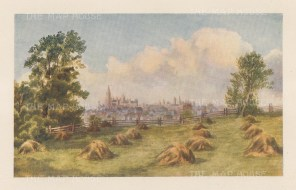 "Mower Martin: Ottawa.1907. An original antique chromolithograph. 6"" x 5"". [CANp660]"