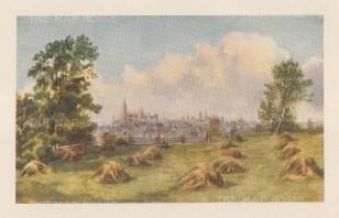 "Mower Martin: Ottawa.1907. An original antique chromolithograph. 6"" x 5"". [CANp660]"