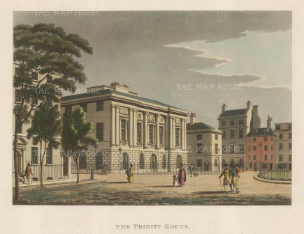 Trinity House, Headquarters of the General Lighthouse Authority.