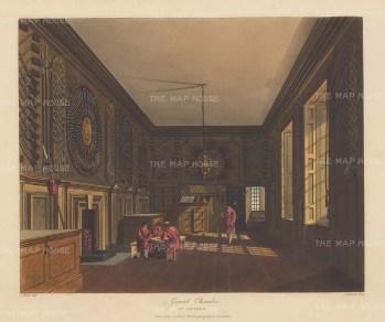 St James's Palace Guard Chamber.