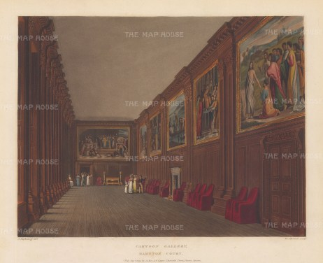 Hampton Court Cartoon Gallery.
