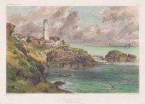 """de Hell: Fenerbahce (Fanarki). c1854. A hand coloured original antique lithograph. 15"""" x 10"""". [TKYp1234]"""