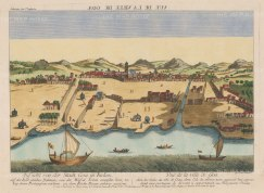 Velha Goa (Old Goa). Panorama of the port on the Mahadayi (Mandovi) River.