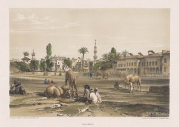"Hay: Palace of Sherif Bey. 1840. An original colour antique lithograph. 16"" x 12"". [EGYp1019]"