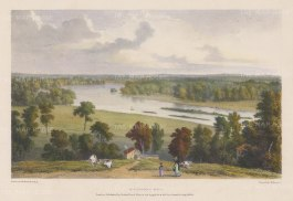 Richmond Hill. View overlooking the Thames. After William Westall, RA.