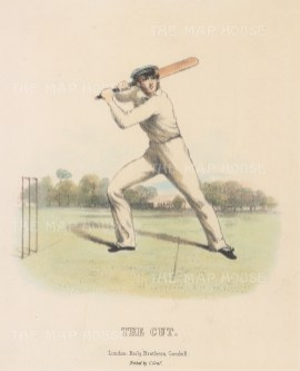 Rare: The Cut: For Felix on the Bat by Nicholas 'Felix' Wanostrocht.