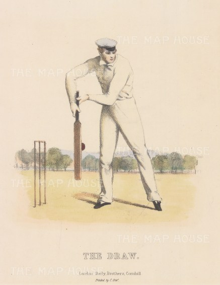 Rare: The Draw: For Felix on the Bat by Nicholas 'Felix' Wanostrocht.