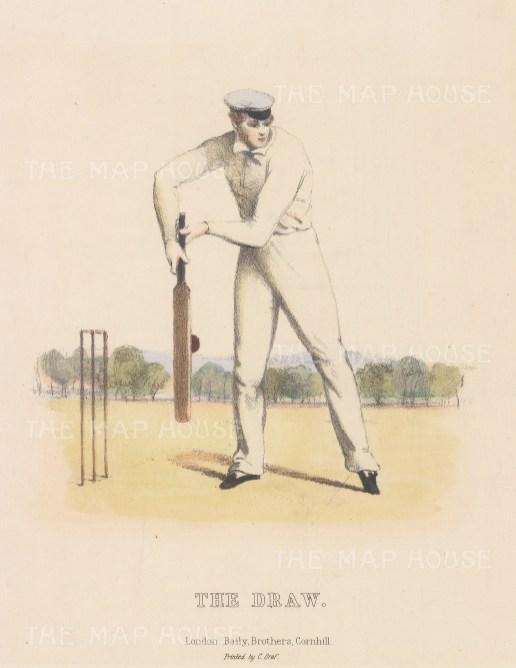 Rare: The Draw: For Felix on the Bat by Nicholas 'Felix' Wanostrocht.