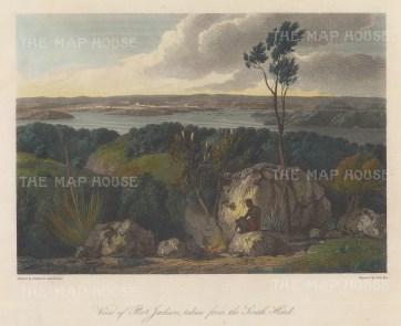 Port Jackson (Sydney) from South Head: After William Westall, artist on HMS Investigator.