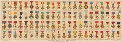 Honours and Chivalric Orders: British and Foreign Orders of Chivalry and Honour.