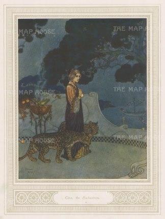 The Enchantress. After Edmund Dulac.
