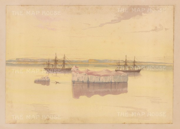 Pink Iceberg: From the Expedition of H.M.S.Alert 1875/77.