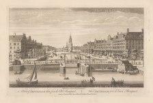 "Sayer: Amsterdam, Netherlands. 1774. An original antique copper engraving. 18"" x 12"". [NETHp193]"