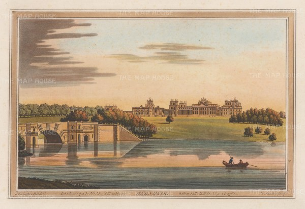 View of the Palace from the Thames. After Joseph Farington.