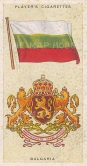 "Player's Cigarettes: Bulgaria. c1935. An original antique chromolithograph. 1"" x 3"". [ARMp12]"