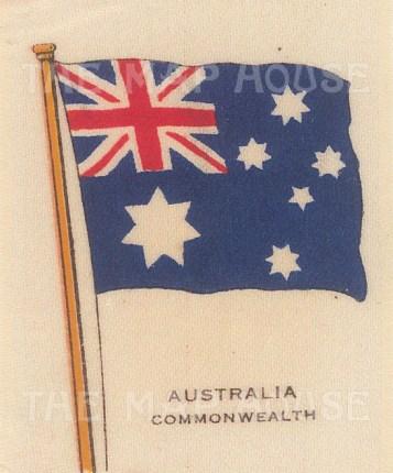 "Cigarette Cards: Australia. c1910. Original printed colour on silk. 2"" x 3"". [ARMp3]"