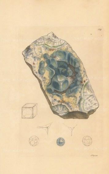 Calx fulata. Fluor from Devonshire.