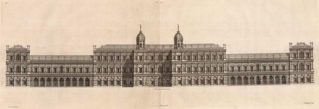 Architectural Elevation: Design by the great seventeenth-century architect Inigo Jones.
