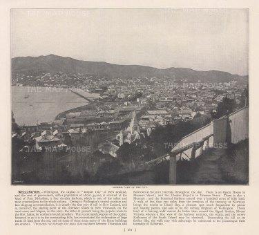 """Meisenbach &Co.: Wellington. c1910. An original antique photo-lithograph. 10"""" x 7"""". [NWZp303]"""