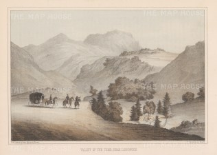 St. Helena: Longwood. Valley of Napoleon's Tomb.