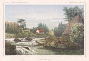 "U.S.P.R.R. Exp.: Hudson Bay. c1857. An original colour antique lithograph. 10"" x 7"". [CANp554]"