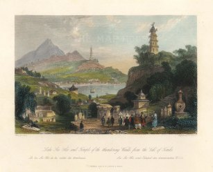 Lake Lee-Hoo and the Temple of Thundering Winds.