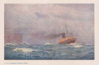 P & O Steamer outward bound: After Percy Spence.