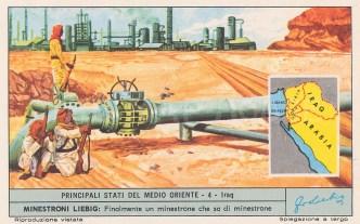 "Liebig's Extract: Iraq. c1930. An original vintage chromolithograph. 4"" x 3"". [MEASTp1437]"